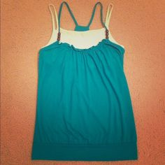 SALE - Summer Top This summer top is cute and original. Size M but fits S as well without feeling too loose. White undershirt wears like a bra (no cupholders). Shows some signs of wear but still in good shape. Tops Tank Tops