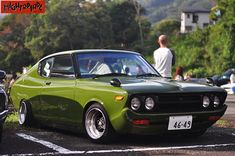 Love this Datsun Classic Japanese Cars, Classic Cars, Toyota Corolla, Toyota Celica, Retro Cars, Vintage Cars, Mazda Cars, Jdm Cars, Datsun Car