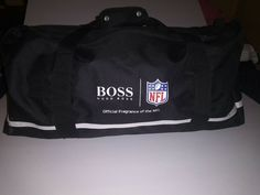 ed3ea1f130 NEW Super Bowl 50 NFL Hugo Boss Parfums Duffle Bag Weekender Travel Gym  Handbag #fashion
