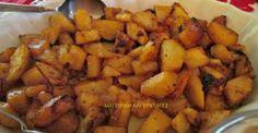 Μελωμένες καταπληκτικές πατάτες φούρνου !!! Cookbook Recipes, Dessert Recipes, Cooking Recipes, Easy Recipes, Good Food, Yummy Food, Appetisers, Greek Recipes, Vegetable Recipes