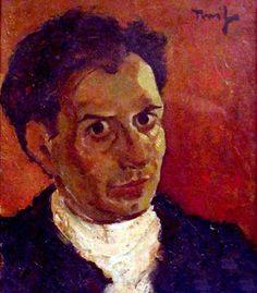 Nicolae Tonitza - self portrait