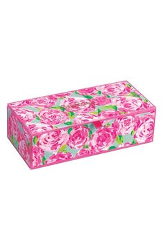 Free shipping and returns on Lilly Pulitzer® 'First Impression' Jewelry Box at Nordstrom.com. Keep all your jewelry and other treasures perfectly organized in a striking glass case featuring a bright signature floral print.