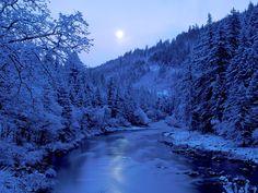 By the Light of the Moon, Scott River, Klamath N