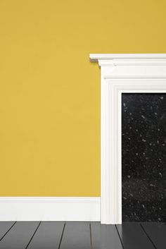Babouche No. 223 Farrow & Ball Paint Babouche No. 223 Farrow & Ball Paint for cabinets? Colorful Kitchen Decor, Kitchen Paint Colors, Colorful Decor, Farrow Ball, Farrow And Ball Paint, Yellow Paint Colors, Yellow Painting, Colour Yellow, Yellow