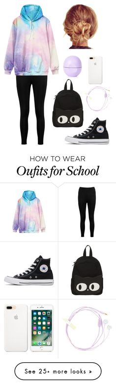 """""""Chillax"""" by lpheimer on Polyvore featuring Boohoo, WithChic, Converse, Topshop and Miss Selfridge"""