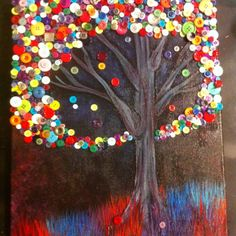 Button Tree. My version.