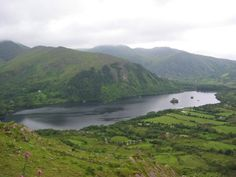 The other side of the Healy Pass in Cork.  A fantastic, not often-traveled drive on the Beara Peninsula that takes you over the mountains and provides stunning views. Stop at the shop on the peak for ice cream!
