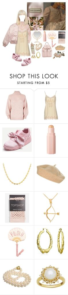 """💖 Fenty 💖"" by cuteghostie ❤ liked on Polyvore featuring Puma, Gucci, Topshop, Bow & Arrow, Bling Jewelry and Lord & Taylor"