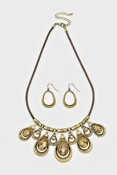 Dayana Necklace in Colorado Topaz on Emma Stine Limited