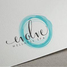 Create a fresh and distinct logo for Evolve Wellness Spa (Yoga Logo) Massage Logo, Graphic Design Branding, Typography Design, Logo Branding, Logo Design Examples, Marketing Branding, Spa Logo, Logo Moda, Hotel Am Strand