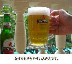 ビンタンビール★ジョッキグラスでお家に居ながらバリ気分♪ アジア雑貨 zakka LOTUS