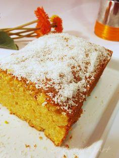 Κέικ αμυγδάλου με καρότο / Almond cake with carrot !