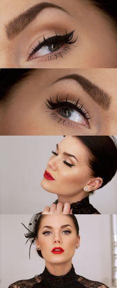 Make up #Redlips