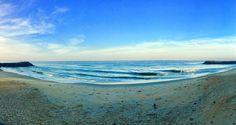 A panoramic view of the Kappad beach Arabian Sea, Beach Waves, Beaches, India, Sky, Water, Instagram Posts, Travel, Outdoor