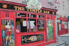 "Attila Nagy; Painting, ""Temple Bar"" #art"