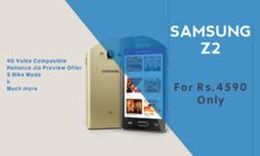 Samsung Z2 Launched for Rs.4590 with Tizen OS and 4G Compatibility