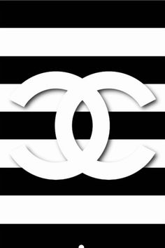 Chanel logo white on red Logos Chanel wallpapers