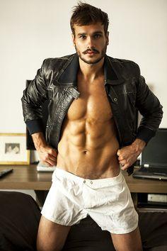 his body...