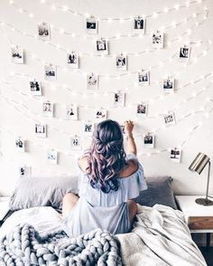 49 Easy and Cute Teen Room Decor Ideas for Girl - wohnideen wohnzimmer - Dorm Room Dream Rooms, Dream Bedroom, Girls Bedroom, Diy Bedroom, Bedroom Wall, Bedroom Decor Teen, Dream Teen Bedrooms, Fantasy Bedroom, Bedroom Themes