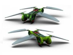 Robot Dragonfly by TechJet