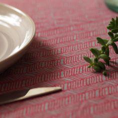 block printed textile, indian block print, block print table linen