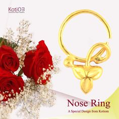 Beautiful Leaf Design Nose Ring  Item description: Metal: 925 sterling silver Plating: 18k gold micron (other plating options available at the kotiom.com) Price: US $23.00 After discount: US $ 18.40 (use coupon code SEASON20)  Return policy: Customer can be returned to us within 30 days  If you want to know more discount, you can message or comment.  #enjoy #happy #gift #giftforher #loveygift #giftforwife#weddinggift #anniwarsarygift #jewelry#rings #earrings #bangle…