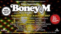 Boney M Australian Tour October 2017 **GET YOUR TICKETS…