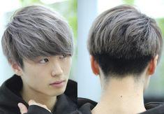 Asian Boy Haircuts, Boy Haircuts Short, Asian Haircut, Korean Hair Color, Mens Hair Colour, Permed Hairstyles, Boy Hairstyles, Perm Hair Men, Kpop Hair