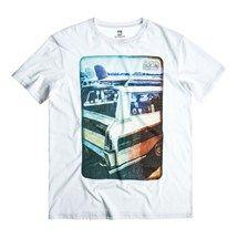 Mens Quiksilver Cruise T Shirt - White  #annscottage #cornwall #surf
