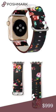 8d1e36264a8 NEW 38mm Vintage Floral Print Band For Apple Watch ▫️Brand new in packaging  ▫️Fits