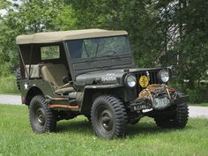 army jeep | ... M38 Military Jeep 4 300x225 picture 1951 Willys M38 Military Jeep ----- I want this one!