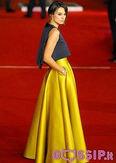 Smutniak, Ferilli и другие знаменитости на красной ковровой дорожке из Римского кинофестиваля - Фото и сплетен