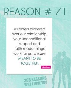 Reasons why I love you #71
