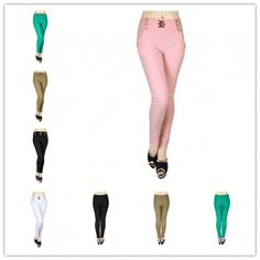 wholesale 12 pieces women 4 pockets slimming jeggings style 1 assorted colors