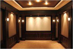 Very small media room-I do like it | Family Entertainment Area ...