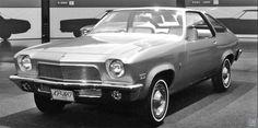 Chevy Vega concept