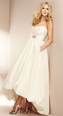 1000 images about gowns i like on pinterest bridal for Hi lo hemline wedding dresses