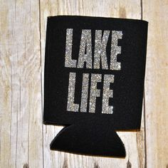 LAKE LIFE KOOZIES!!! Each Koozie is designed with glitter or solid color letters. Our Koozies are perfect to keep for yourself or give as a birthday gift, girls weekend, etc.!