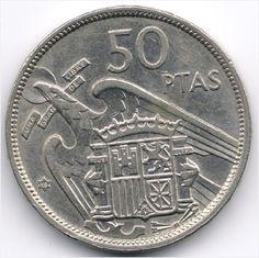 Spain 50 Pesetas 1957 (58) Veiling in de Spanje,Europa (niet of voor €),Munten,Munten & Banknota's Categorie op eBid België