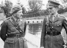 L-R: General Sosabowski and Browning - Operation Market Garden - Battle of Arnhem