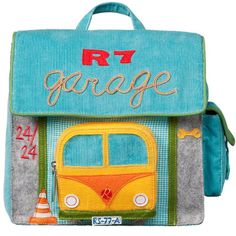 ROOM SEVEN Small BackpackGarage Boys Kindergartenrucksack