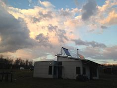 Just Miles From The Off Grid Modern Prefab House The Tornado Hits Hard.