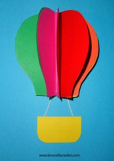 mongolfiera-portanome3 Classroom Door, Grammar, Table Lamp, Paper, Ideas, Home Decor, Hangers, Murals, Notebook