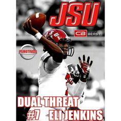 Jacksonville State QB Eli Jenkins #7 PSMOTIVATE