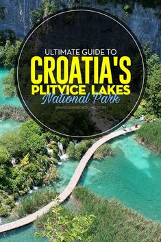 Croatia Travel Blog: #Croatia's Plitvice Lakes are a treasured #UNECSO site worthy of a visit for any traveler. Here's our ultimate guide for visiting #PlitviceLakes #NationalPark