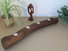 Windlichter - Eiche Treibholz Teelichthalter, Eichenbalken - ein Designerstück von Iris-Kuhn bei DaWanda