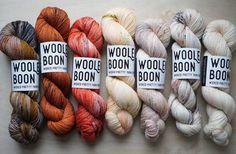 Woolen Boon Hand Dyed Yarn by Sonya Brazell