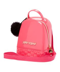 Another great find on #zulily! Betsey Johnson Pink Don't Be Jelly Backpack by Betsey Johnson #zulilyfinds