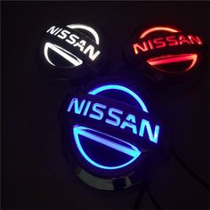 Here have our Nissan 5D Illuminated LED Car Badge Light As you can see these new badges are very different from our other 3D and 4D LED badges they