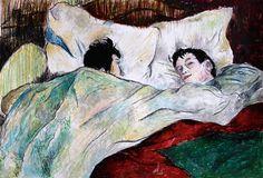 Infected Toulouse Lautrec _oil pastels_